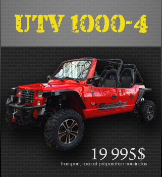 Models UTV1000-4cc